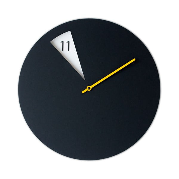 Zegar Freakishclock Black/Yellow