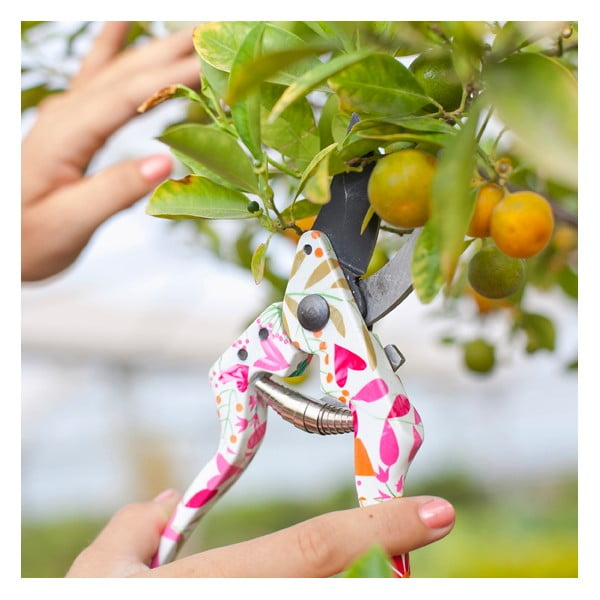 Zestaw narzędzi ogrodniczych Compose Pink
