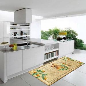 Wytrzymały dywan kuchenny Webtapetti Bon Appetit, 60x240 cm