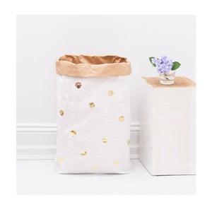 Papierowy kosz Goldene Punkte DIY