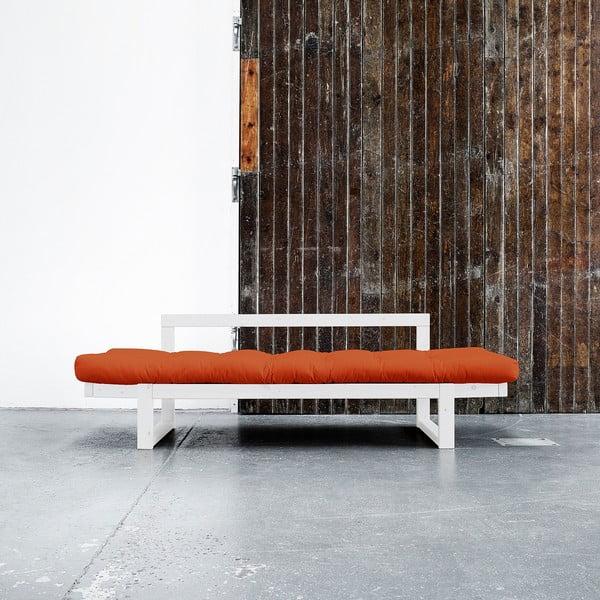 Sofa Karup Edge White/Orange