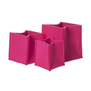 Zestaw koszy Present Time Mellow Pink