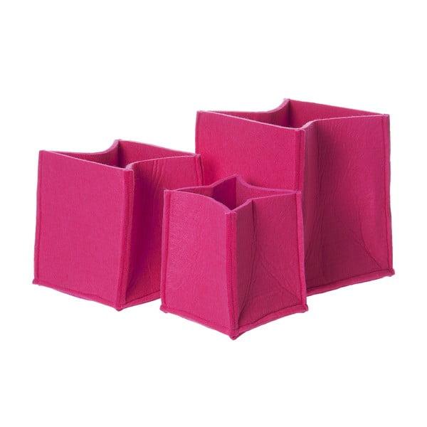 Zestaw koszy PT LIVING Mellow Pink