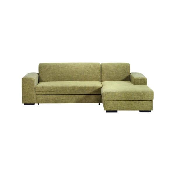 Rozkładana kanapa A-Maze, sosnowa, prawa strona