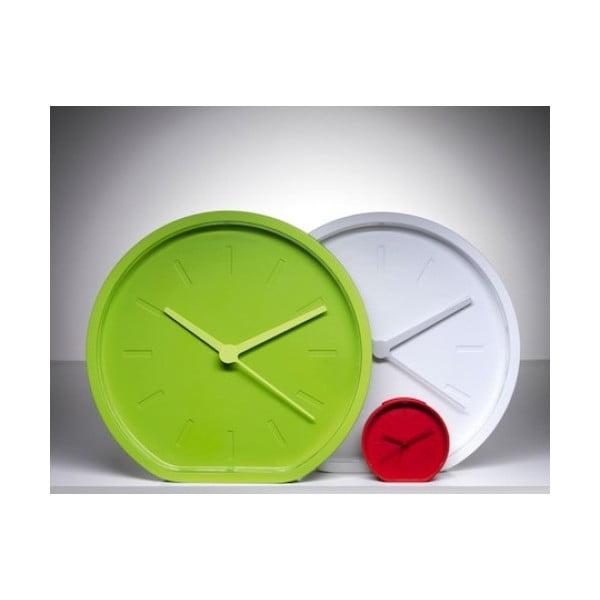 Zegar SIDE, limonkowy