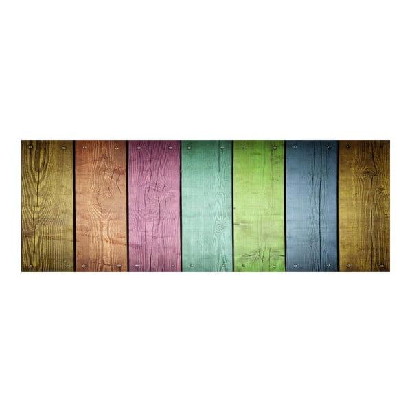 Winylowy dywan Cocina Tablas de Colores, 50x140 cm