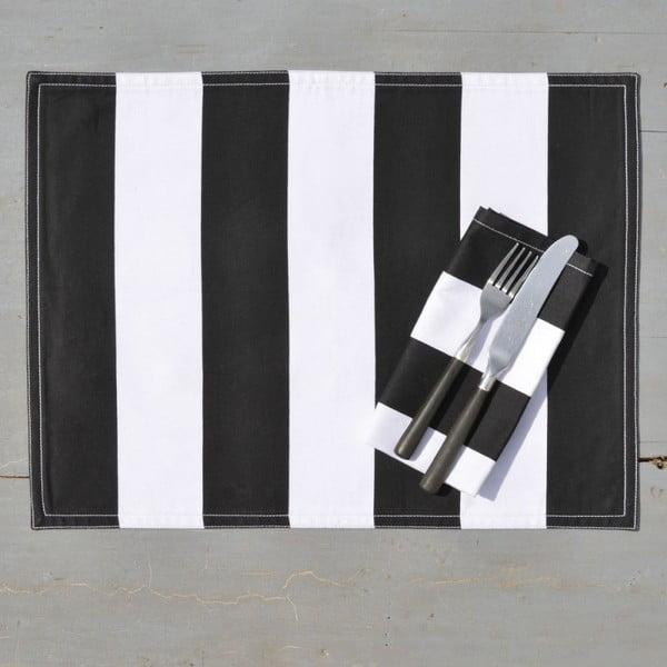 Maty bawełniane Black Block