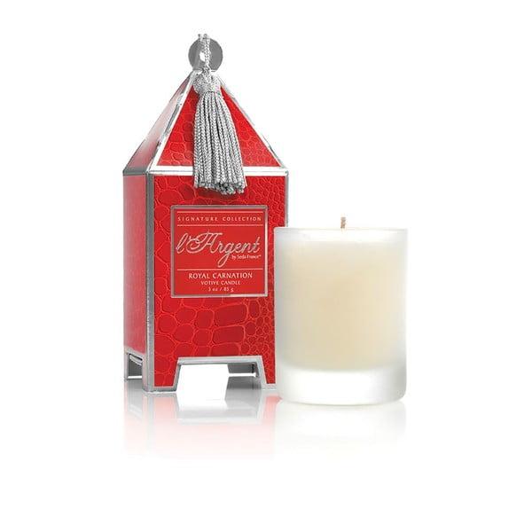Zestaw 2 świeczek Royal Carnation, 15-20h palenia