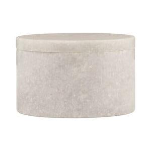 Marmurowy   pojemnik House Doctor White Marble