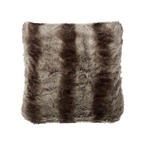 Poduszka z wypełnieniem Fake Fur Grey, 50x50 cm
