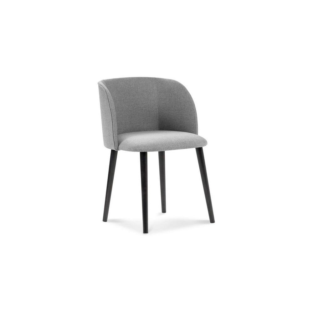 Jasnoszare krzesło Windsor & Co Sofas Antheia