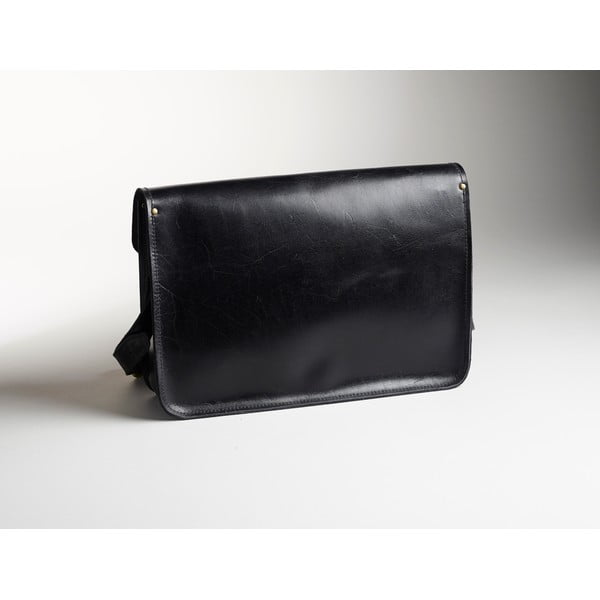 Męska torba skórzana Winter Smoke Satchel, 40 cm