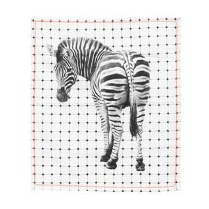 Ścierka kuchenna Present Time Tiles Zebra, 50x70 cm