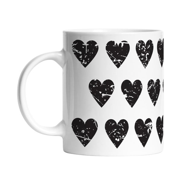Ceramiczny kubek Be my Love, 330 ml
