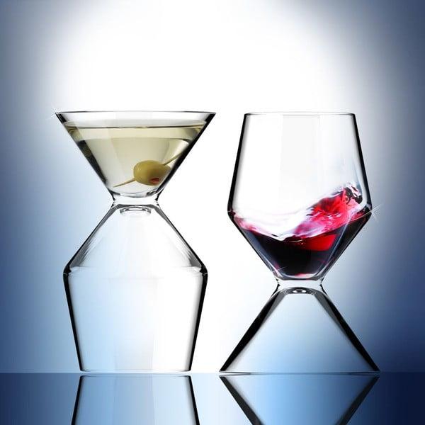 Dwustronna szklanka Vino Tini
