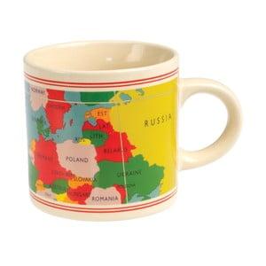 Kubek ceramiczny Rex London World Map, 350 ml