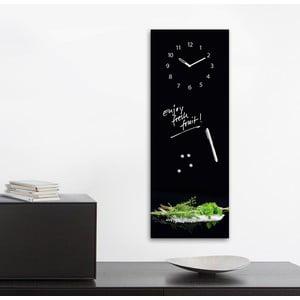 Tablica magnetyczna z zegarem Eurographic Herbs, 30x80 cm