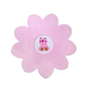 Dywan dziecięcy Beybis Pink Teddy, 120 cm