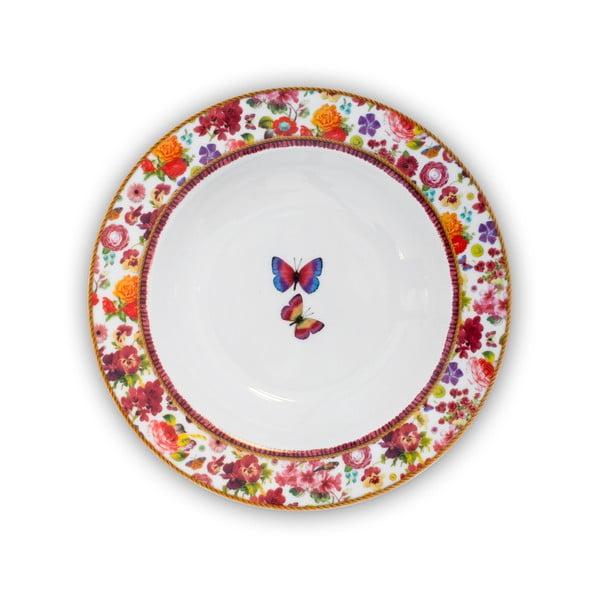 Talerz porcelanowy Melli Mello Isabelle, 21.5 cm