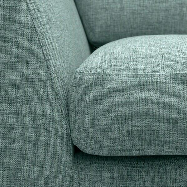 Jasnoturkusowa sofa 3-osobowa Vivonita Monroe