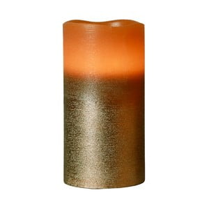 Brązowa świeczka LED Orange, 15 cm