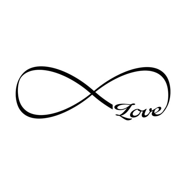 Naklejka Ambiance Infinity Love