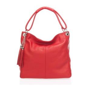 Skórzana torebka Markese 5008 Rosso