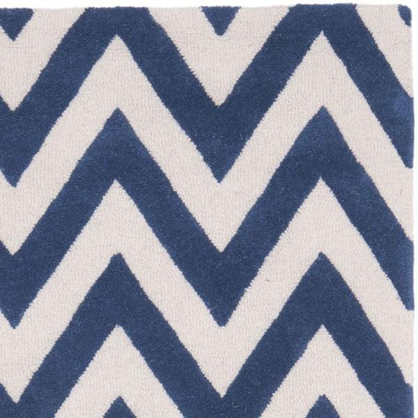 Dywan Stella 76x182 cm, niebieski