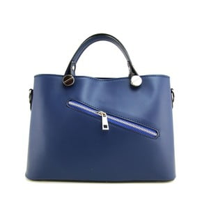 Skórzana torebka Adelaide Blue