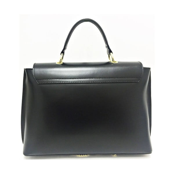 Skórzana torebka Lilu Black