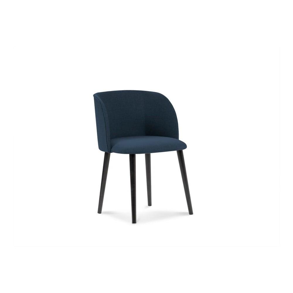 Ciemnoniebieskie krzesło Windsor & Co Sofas Antheia