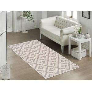Wytrzymały dywan Vitaus Art Bej, 80x150cm