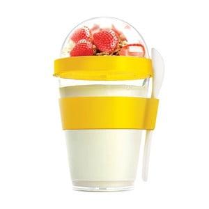 Żółty pojemnik śniadaniowy Yo2GO