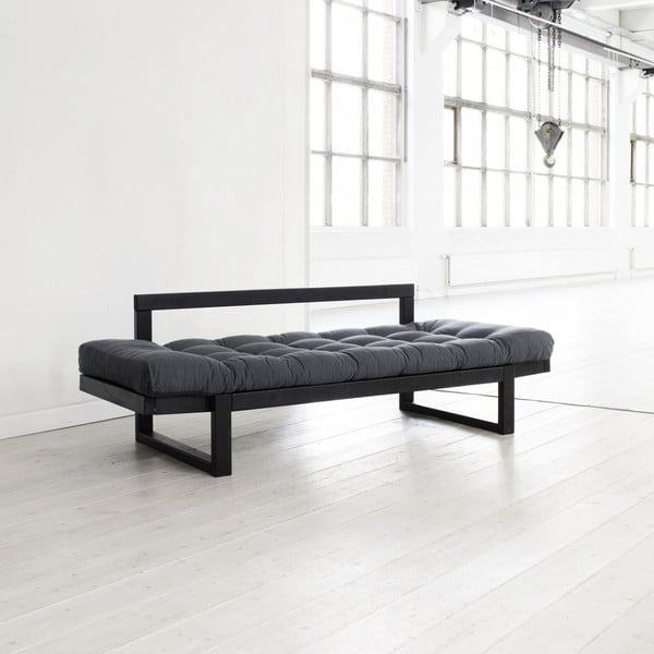 Sofa   Karup Edge, grey/ black