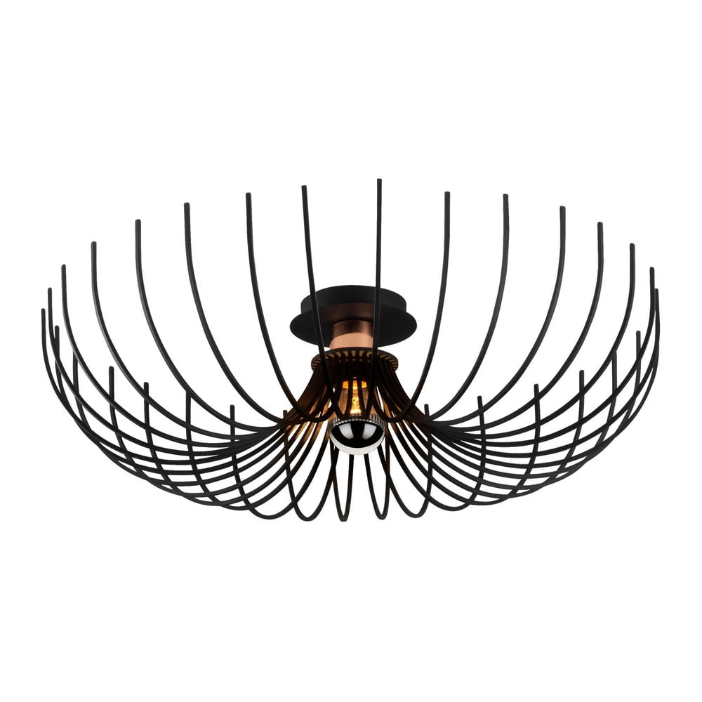 Czarna lampa sufitowa Opviq lights Aspendos, ø 56 cm