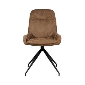 Brązowe krzesło LABEL51 Winner