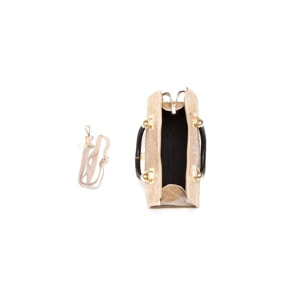 Skórzana torebka Isabella Rhea 822 Fango