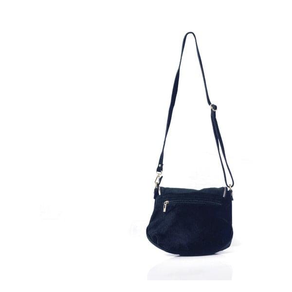 Skórzana torebka Louise, ciemnoniebieska
