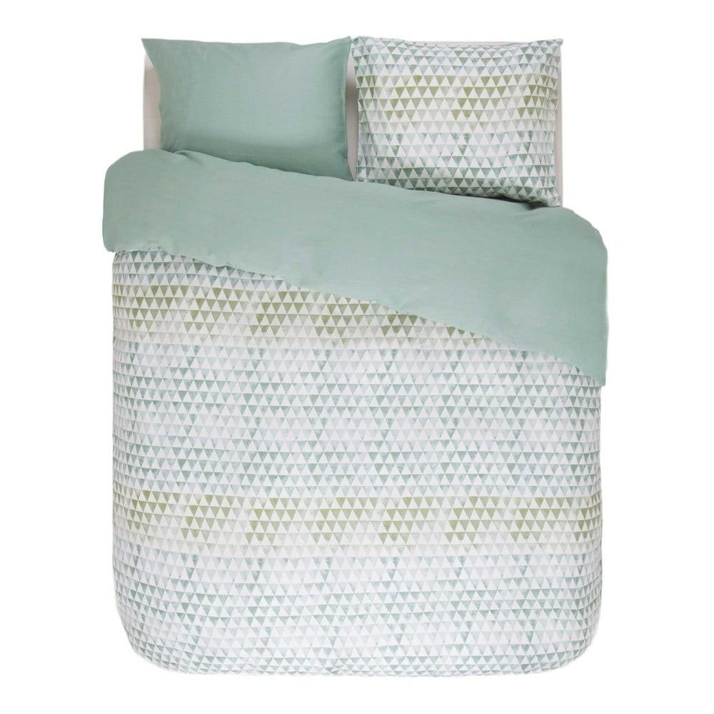 zielono bia a wzorzysta po ciel esprit yelka 200x200 cm bonami. Black Bedroom Furniture Sets. Home Design Ideas
