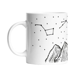 Kubek Black Shake Star Constellations, 330 ml