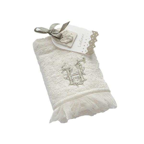 Ręcznik z inicjałem H, 30x50 cm