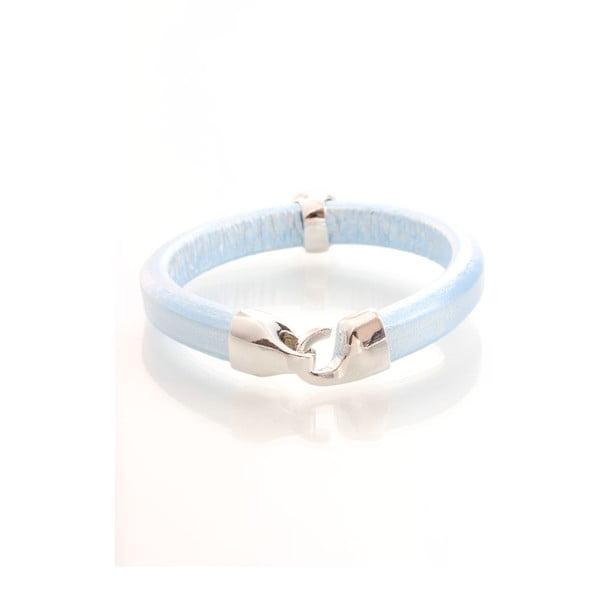 Niebieska bransoletka z kryształami Swarovskiego Yasmine Clap