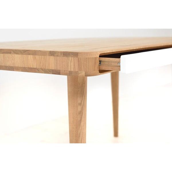 Stół dębowy Gazzda Ena Two, 160x90x75 cm