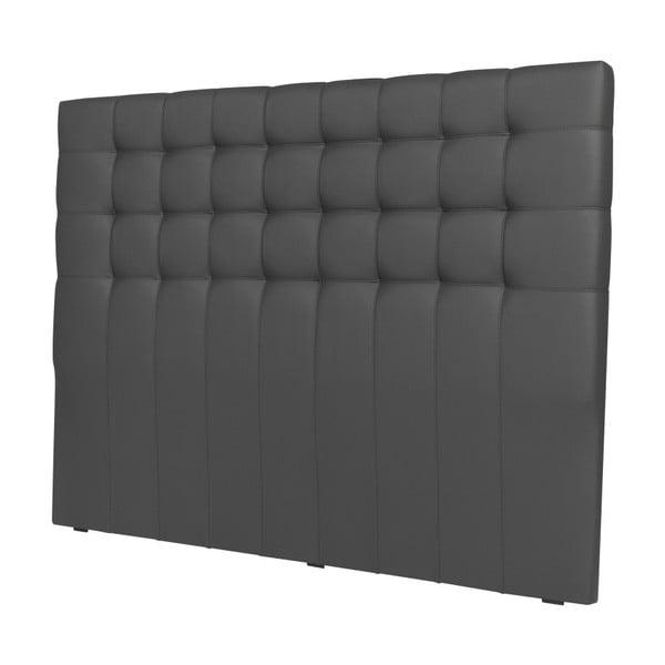 Szary zagłówek łóżka Windsor & Co Sofas Deimos, 140x120 cm