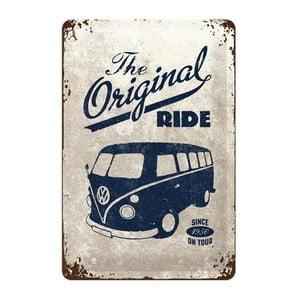 Blaszana tabliczka The Original Ride, 20x30 cm