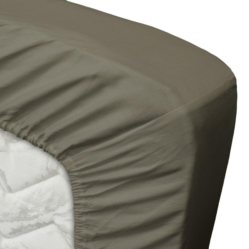 szarobr zowe prze cierad o twents damast satin fits 180x200 cm bonami. Black Bedroom Furniture Sets. Home Design Ideas