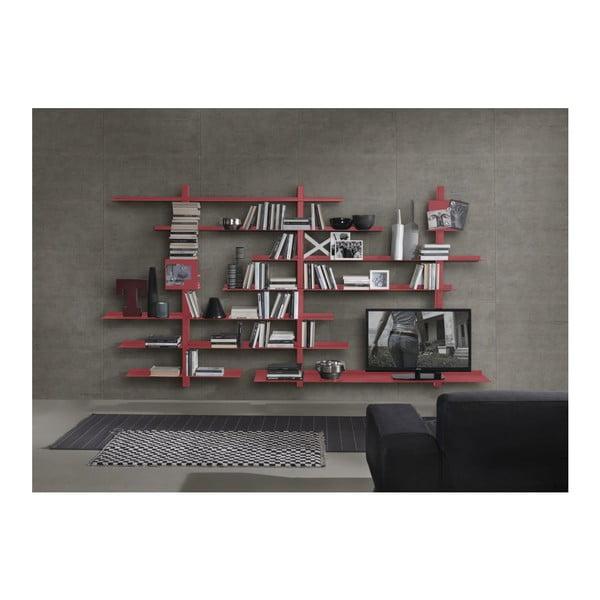 Biblioteczka Zefiro III Red