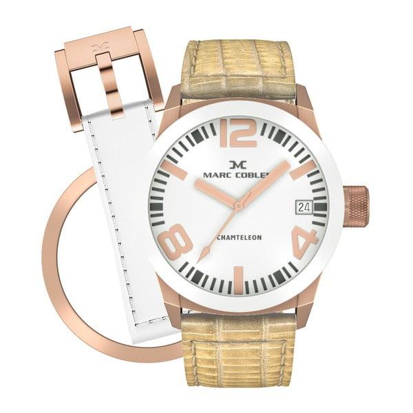 Zegarek damski Marc Coblen z dodatkowym paskiem i obręczą P82
