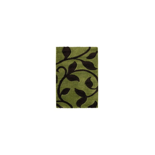 Dywan Fashion Green Brown, 80x150 cm
