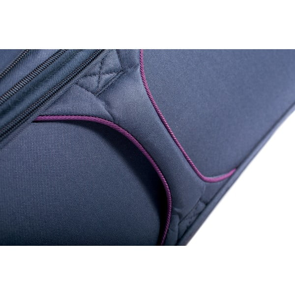 Zestaw 3 niebieskich walizek Jaslen